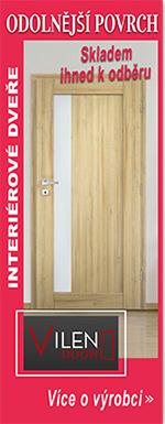 Kvalitní interiérové dveře SKLADEM | VILEN DOOR