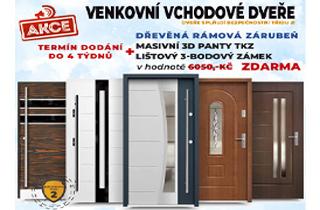 Vchodové dveře, vstupní dveře venkovní