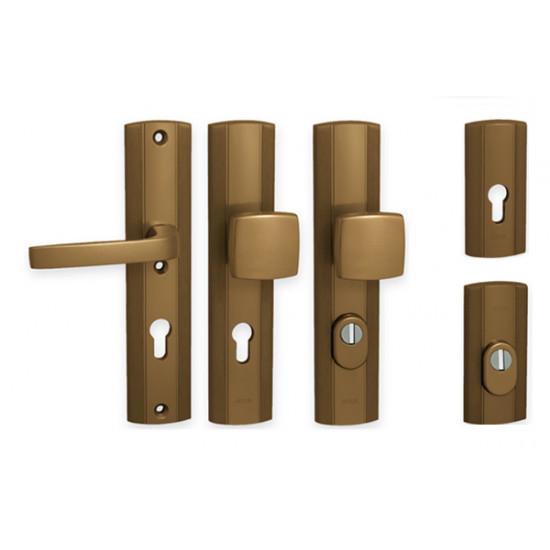 PRESTIGE - bezpečnostní kování, F4 - bronz elox