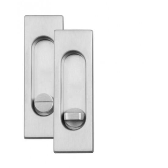 Mušle WC, OCS - Chrom broušený