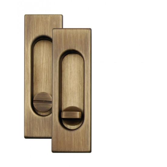 Mušle WC, OGS - Bronz česaný mat