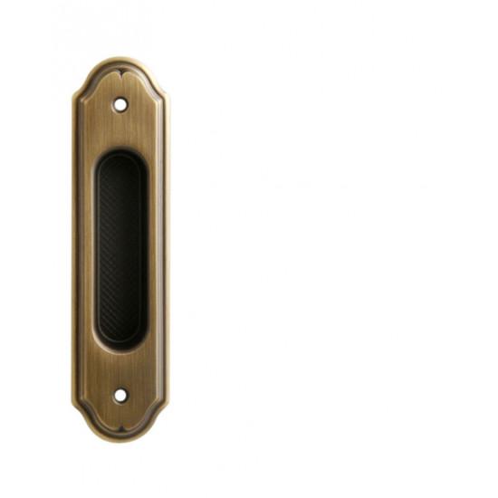 Mušle PIBS - Bez otvoru, OGS - Bronz česaný mat