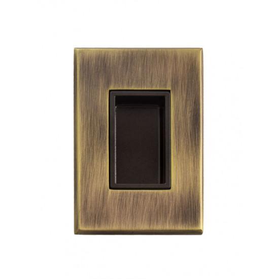 TI - 2649, OGS - Bronz česaný mat. / vanička bronz epox