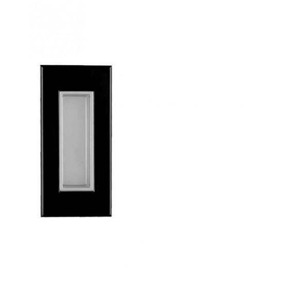 TI - 2650, BOC - černý lesklý chrom / vanička stříbrný epox
