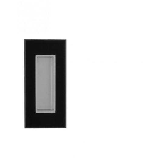 TI - 2650, BVOC - Černý velvet chrom / vanička stříbrný epox