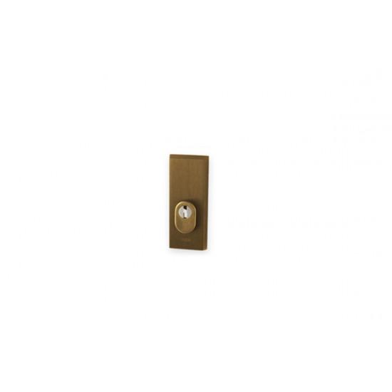 Přídavná bezpečnostní rozeta PLUS ATLAS 2, F4 - bronz elox