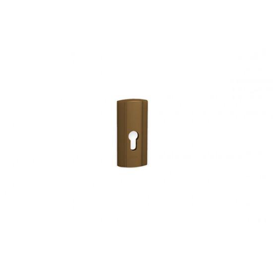Přídavná bezpečnostní rozeta PRESTIGE, F4 - bronz elox