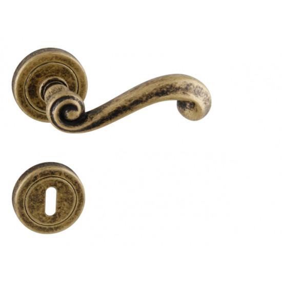 klika TI - CARLA - R 738, OBA - Antik bronz