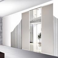 Bezobložkové stavební pouzdro SCRIGNO Essential dvoukřídlé